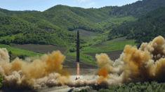 North Korea shoots missile over Japan