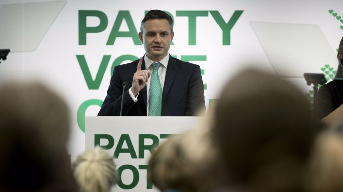 Green Party leader James Shaw. (Photo: File)
