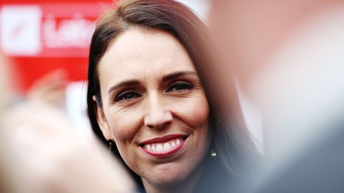In my book Ardern nailed it though. (Photo \ Getty Images)