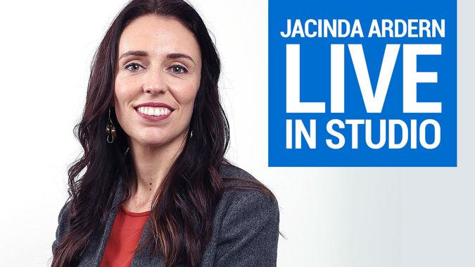 Labour leader Jacinda Ardern live in studio (Image / Getty Images)