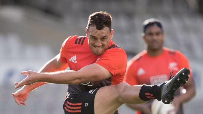 All Black winger Israel Dagg (Photo \ Brett Phibbs)