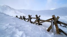 Avalanche warning issued after snow