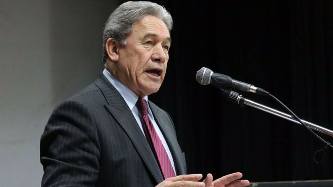 Winston Peters says it's a serious priority for his party to introduce commuter rail from Christchurch to North Canterbury towns (NZ Herald)