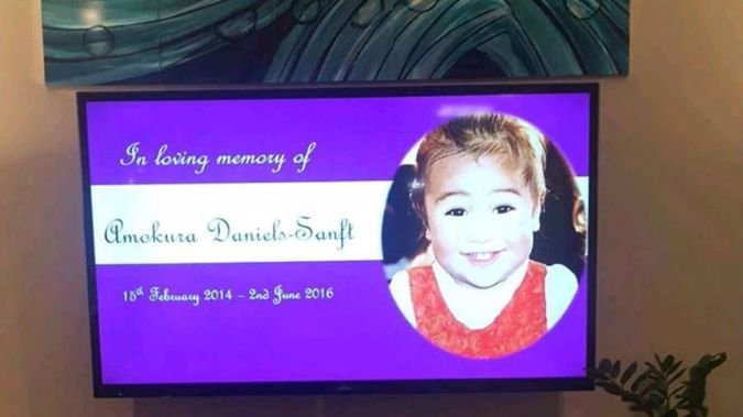 Amokura Daniels-Sanft, 2, died in the most tragic of circumstances at her family home. (Photo / Supplied)