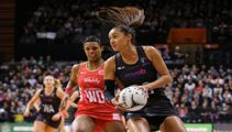 Silver Ferns come up roses against England