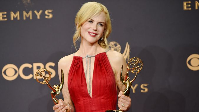 Actor Nicole Kidman, winner of Outstanding Lead Actress in a Limited Series or Movie (Getty)