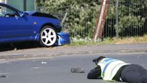 Watch: 5 hurt, 1 critical after car hits kids