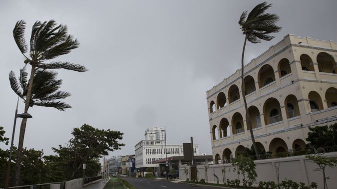 Hurricane Maria is barrelling towards Puerto Rico after wreaking widespread devastation on Dominica (Getty)