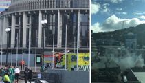 Police appeal for witnesses of man on fire outside Parliament