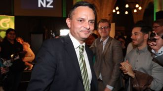 James Shaw: Greens can sink differences with Winston