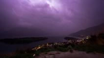 10,000-plus lightning bolts strike South Island