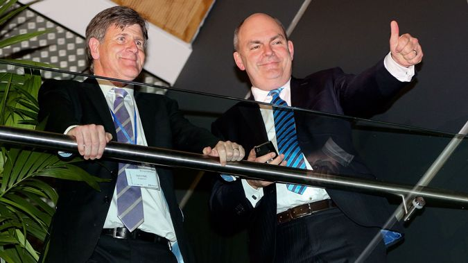 Mr Eagleson has been senior advisor to Mr English and former prime minister Sir John Key (Getty)