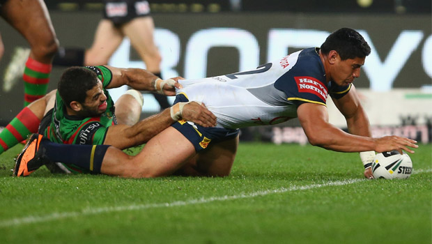 The barnstorming Kiwis international needs just 54m in Sunday's NRL grand final against Melbourne to become the first forward in the competition's history to crack 5000m for a season (Getty Images)
