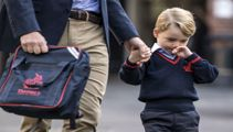 Prince George fed up with school already, says William