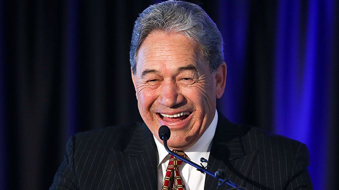 Winston Peters is in Wellington to meet his caucus (Image / Getty Images)