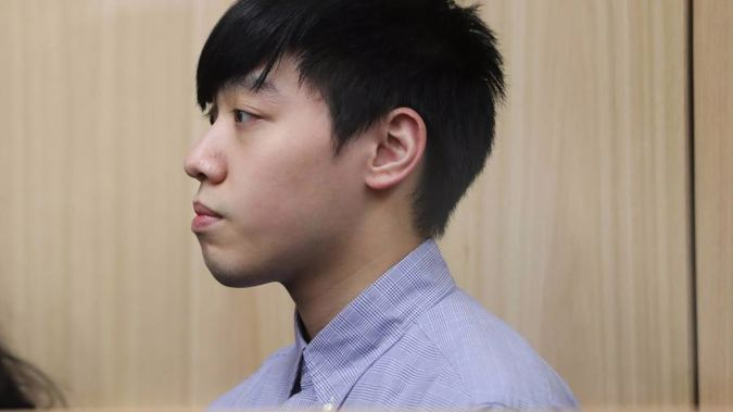 Ho Hin Wan from Hong Kong has been sentenced to 16 years after being found guilty of importing a class A drug. (Photo / Peter Meecham)