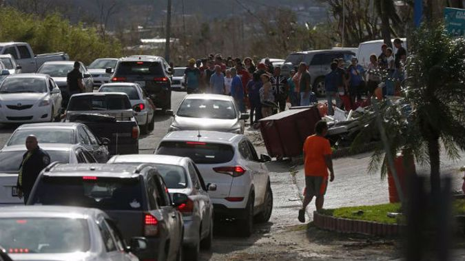 The supplies are there, but the support network is not. (Photo \ AP NZ Herald)