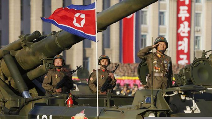 Tensions between the US and North Korea have built after Pyongyang tested missiles and a nuclear device. (Photo \ Getty Images)