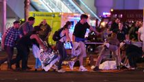 Shooting in Las Vegas, reports of many dead