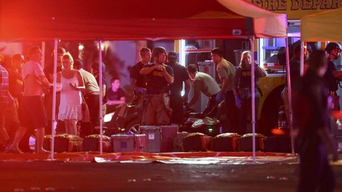 Chaotic scenes as gunfire stops a concert and people flee for their lives