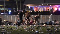 Watch: Las Vegas shooting 'I saw people plugging bullet holes with their fingers'