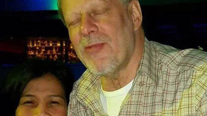 Stephen Craig Paddock, right, is the man who killed more than 58 and injured 515 in a shooting at a Las Vegas music festival last night.
