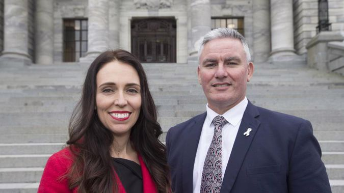 Leader Jacinda Ardern and deputy Kelvin Davis will spearhead Labour's negotiation team.
