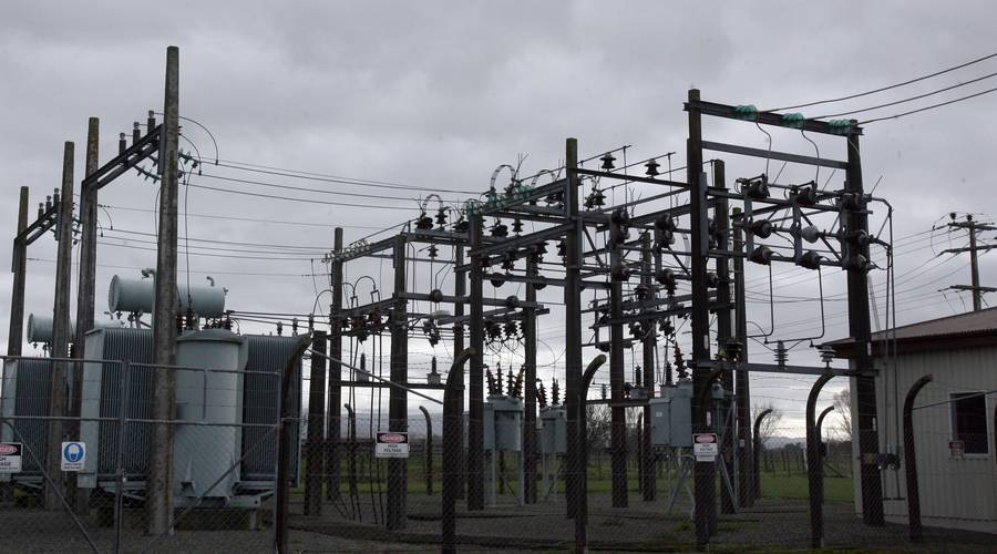 Powerco Akura Substation, Masterton. (Photo / NZ Herald)