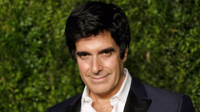 Copperfield  told the audience to stay seated because there had been a shooting outside (Getty)