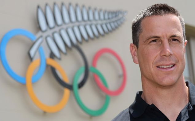 New Zealand team chef de mission Rob Waddell. (Photo / File)