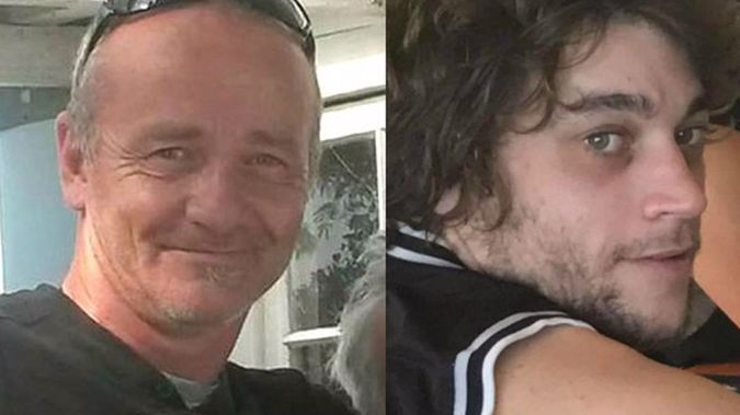 Raymond Fleet (left) and James Fleet were killed in August. (Photo \ NZ Herald)