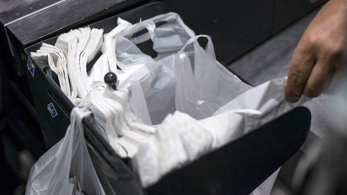 He has led the call from councils for the government to impose a mandatory charge on plastic bags. (Photo \ Getty Images)