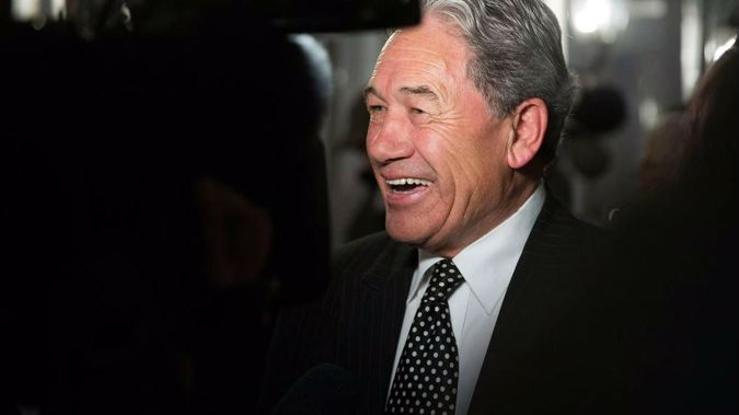 Both National and Labour have met for talks with the Mr Peters, as they try to form the next Government. (Photo \ NZ  Herald)