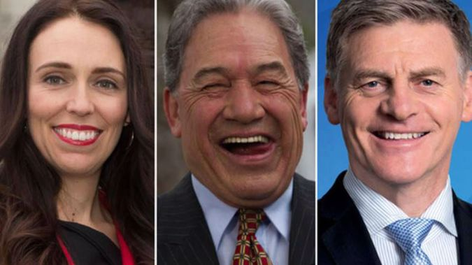 In fairness to Peters though it's not a position that many of us would relish, it's a decision that the country has to live with for the next three years. (Photo \ NZ Herald)