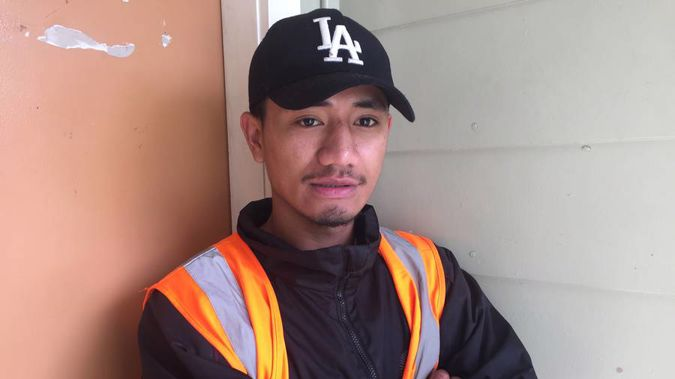 Levaula Amosa was one of three young men hit by shotgun pellets in Otara last night. (Photo \ NZ Herald)