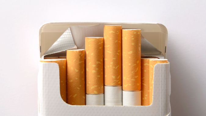 David Seymour says tax on cigarettes should be lessened. (Photo Getty Images)