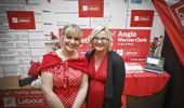Tauranga Labour Candidate Jan Tinetti (left) and Bay of Plenty Candidate Angie Warren-Clark
