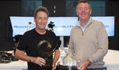 Turner joined Mike Hosking in studio with the Masters Tournament trophy.