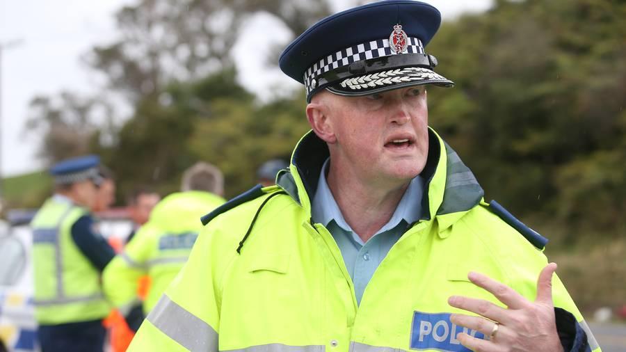 National road policing manager Superintendent Steve Greally. (Photo / John Borren)