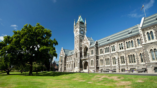 Otago University will cut 160 and not 182 as originally planned. (Photo \ Getty Images)