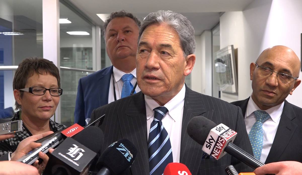 Whichever way Peters goes, the next Government will last one term. (Photo \ NZ Herald)