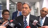 Winston Peters is heading into the second day of discussions with his board and fellow New Zealand First MPs. (Photo \ NZ Herald)