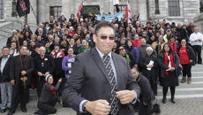 Harawira predicts Peters will remain tightlipped