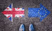 They say Britain would become the richest country in Europe, if it stayed with the European Union. (Photo \ Getty Images)