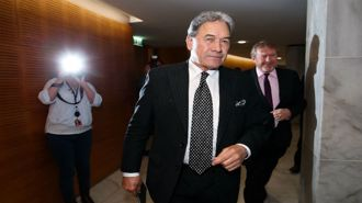 Watch: The moment Winston Peters announced New Zealand's new Government