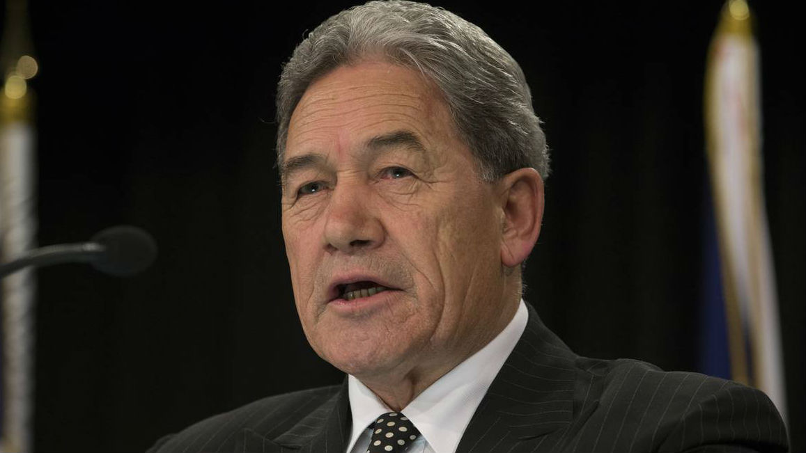 Winston Peters has announced NZ First will go with Labour to form a Labour and NZ First Coalition.