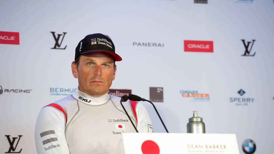 Dean Barker raced for Team Japan at this year's America's Cup. (Photo / Photosport)
