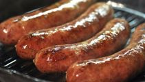 Nici Wickes: Homemade healthy Thai sausages