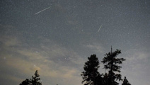 No need for hard hats as meteor shower approaches