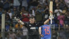 Black Caps cruise to victory over India in first ODI